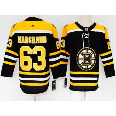 Boston Bruins #63 Brad Marchand Black Women Adidas Jersey