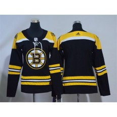 Boston Bruins Blank Black Women Adidas Jersey