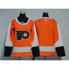 Philadelphia Flyers Blank Orange Women Adidas Jersey