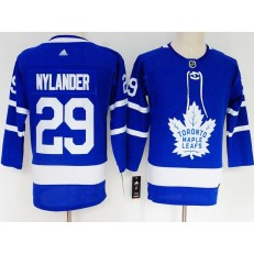 Toronto Maple Leafs #29 William Nylander Blue Women Adidas Jersey
