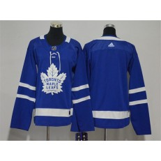 Toronto Maple Leafs Blank Blue Women Adidas Jersey