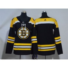 Boston Bruins Blank Black Youth Adidas Jersey