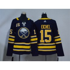 Buffalo Sabres #15 Jack Eichel Navy Youth Adidas Jersey