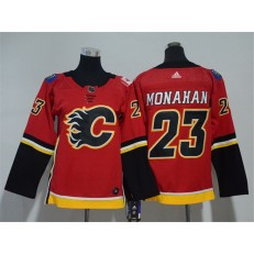 Calgary Flames #23 Sean Monahan Red Youth Adidas Jersey