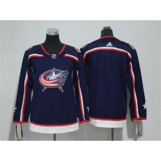 Columbus Blue Jackets Blank Navy Youth Adidas Jersey