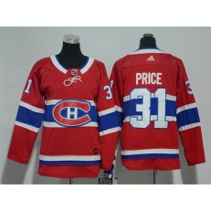 Montreal Canadiens #31 Carey Price Red Youth Adidas Jersey
