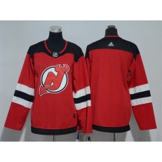New Jersey Devils Blank Red Youth Adidas Jersey