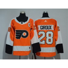 Philadelphia Flyers #28 Claude Giroux Orange Youth Adidas Jersey
