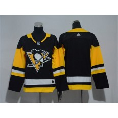 Pittsburgh Penguins Blank Black Youth Adidas Jersey