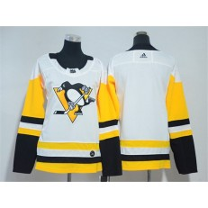 Pittsburgh Penguins Blank White Youth Adidas Jersey