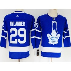 Toronto Maple Leafs #29 William Nylander Blue Youth Adidas Jersey