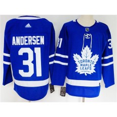 Toronto Maple Leafs #31 Frederik Andersen Blue Youth Adidas Jersey