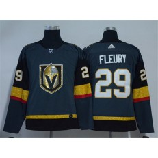 Vegas Golden Knights #29 Marc-Andre Fleury Gray Youth Adidas Jersey
