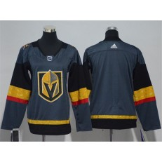 Vegas Golden Knights Blank Gray Youth Adidas Jersey