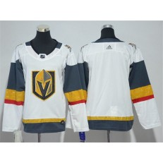 Vegas Golden Knights Blank White Youth Adidas Jersey