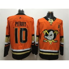 Anaheim Ducks #10 Corey Perry Orange Adidas Jersey