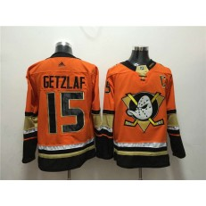 Anaheim Ducks #15 Ryan Getzlaf Orange Adidas Jersey