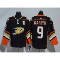 Anaheim Ducks #9 Paul Kariya Black Adidas jersey