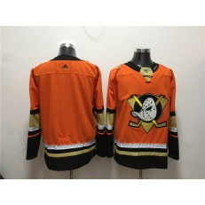 Anaheim Ducks Blank Orange Adidas Jersey