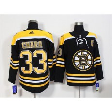 Boston Bruins #33 Zdeno Chara Black Adidas Jersey