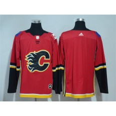 Calgary Flames Blank Red Adidas Jersey