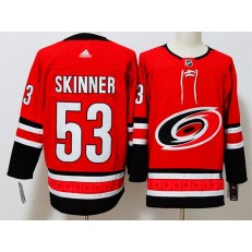 Carolina Hurricanes #53 Jeff Skinner Red Adidas Jersey