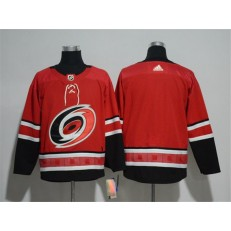 Carolina Hurricanes Blank Red Adidas Jersey