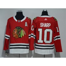 Chicago Blackhawks #10 Patrick Sharp Red Adidas Jersey