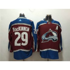 Colorado Avalanche #29 Nathan MacKinnon Red Adidas Jersey