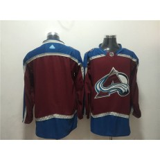 Colorado Avalanche Blank Red Adidas Jersey