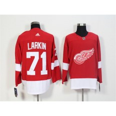 Detroit Red Wings #71 Dylan Larkin Red Adidas Jersey