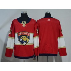 Florida Panthers Blank Red Adidas Jersey