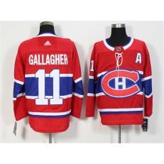 Montreal Canadiens #11 Brendan Gallagher Red Adidas Jersey