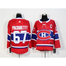 Montreal Canadiens #67 Max Pacioretty Red Adidas Jersey