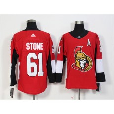 Ottawa Senators #61 Mark Stone Red Adidas Jersey