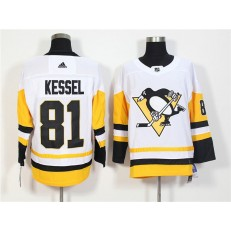Pittsburgh Penguins #81 Phil Kessel White Adidas Jersey