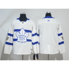 Toronto Maple Leafs #Blank White 2018 NHL Stadium Series Adidas Jersey