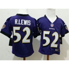 Nike Baltimore Ravens 50 R.Lewis Purple Toddler Game Jersey