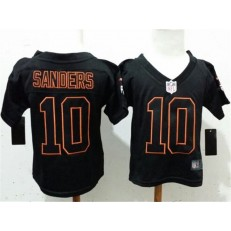 Nike Denver Broncos 10 Emmanuel Sanders Black Toddler Game Jersey