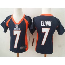 Nike Denver Broncos 7 John Elway Blue Toddler Game Jersey