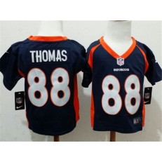 Nike Denver Broncos 88 Demaryius Thomas Blue Toddler Jersey