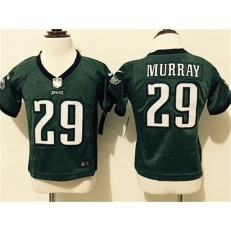 Nike Philadelphia Eagles 29 DeMarco Murray Green Toddler Game Jersey