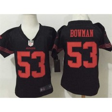 Nike San Francisco 49ers 53 NaVorro Bowman Black Toddler Game Jersey