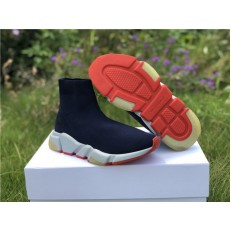 Balenciaga Speed Trainer Sneakers Navy Red 506344W05G04102