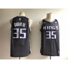 Sacramento Kings 35 Marvin Bagley III Black City Edition Nike Swingman Men Jersey