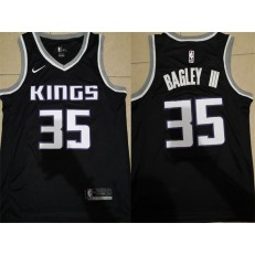Sacramento Kings 35 Marvin Bagley III Black Nike Swingman Men Jersey