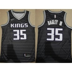 Sacramento Kings 35 Marvin Bagley III Black Without The Sponsor Logo City Edition Nike Swingman Men Jersey