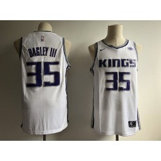 Sacramento Kings 35 Marvin Bagley III White Nike Swingman Men Jersey