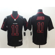 Atlanta Falcons 11 Julio Jones Black Shadow Legend Limited Nike NFL Men Jersey