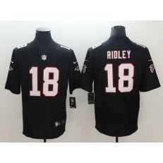 Atlanta Falcons 18 Calvin Ridley Black Vapor Untouchable Limited Nike NFL Men Jersey
